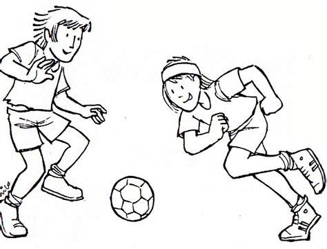 imagenes de niños jugando futbol para dibujar ni 241 os jugando futbol animados imagui