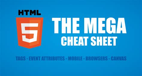 tutorial html5 pdf html 5 cheat sheet including free pdf download make a