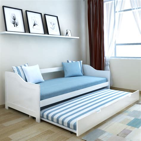 Daybed Sofa With Trundle by Wooden Day Bed Pullout Daybed Trundle Solid Wood Sofa Beds
