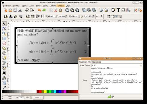 inkscape extension tutorial math formula to 3d printable object 4
