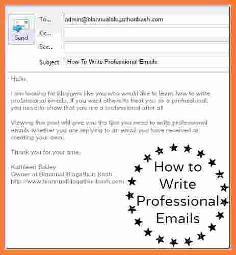 How To Compose A Professional Email 9 How To Write A Email Marital Settlements Information