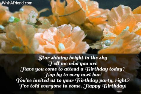 star shining bright   sky  birthday card message