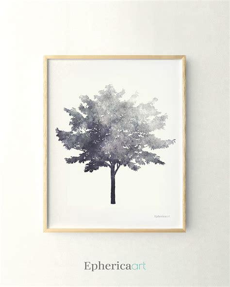 free printable tree wall art tree print black and white print 11x14 living room decor wall