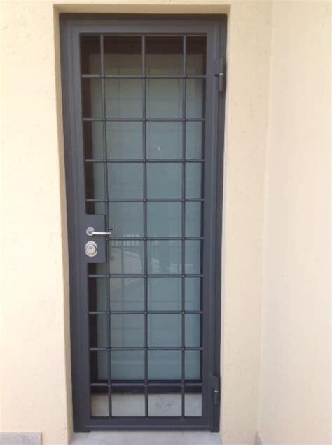 porte d ingresso blindate inferriate blindate per porte d ingresso in acciaio