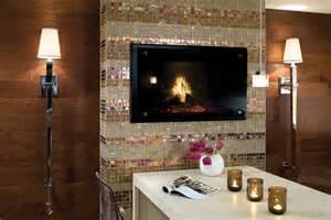 glas kamin fireplace tile fireplace design westside tile and