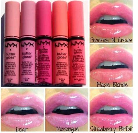 nyx butter gloss i these just bought maple blondie haylei s board nyx
