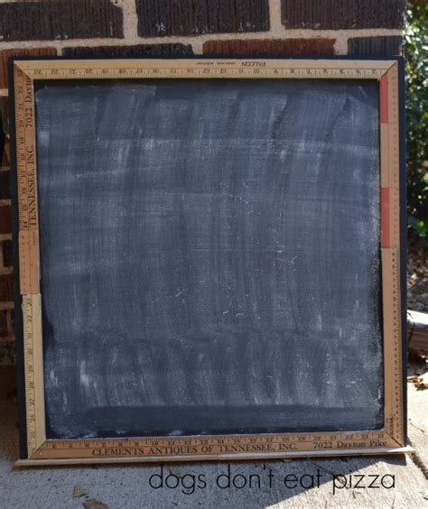 diy chalkboard duster countdown chalkboard the diy bungalow