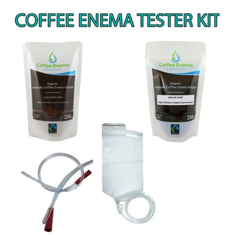 Coffee Detox Kit by Coffee Starter Tester Kit Organic Fairtrade Coffee