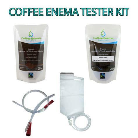 COFFEE ENEMA STARTER TESTER KIT   ORGANIC FAIRTRADE COFFEE  GERSON CLEANSING ? James Health 1000