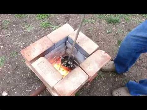 backyard smelting how to melt copper 2 3 building the foundry doovi
