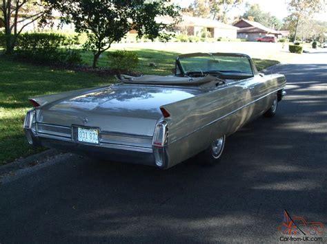 gold convertible 1964 cadillac convertible rare sierra gold 429 last year