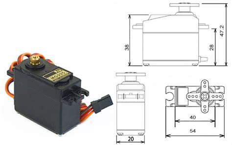 Produk Towerpro Mg995 Metal Gear jual motor servo tower pro mg995 freelab