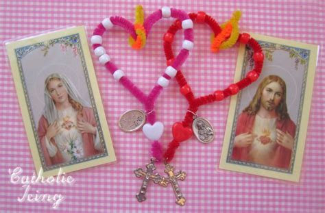 catholic crafts 44 best sacred immaculate images on