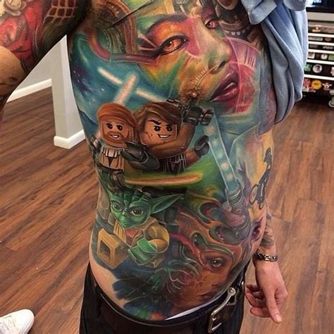 best star wars tattoos the best and worst wars tattoos in the galaxy