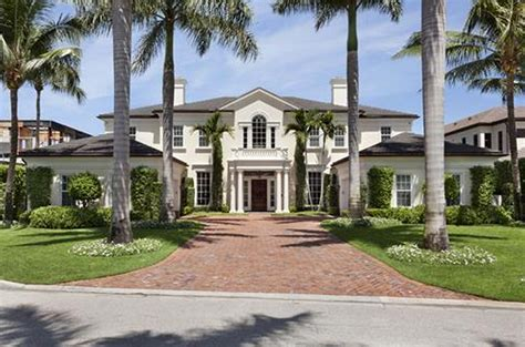 Country Home Floor Plans Australia by 11 8 Million Georgian Style Waterfront Mansion In Boca
