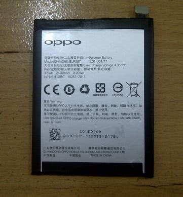 Mcom Battery Power Oppo Blp oppo battery battery blp587 for r1c original original