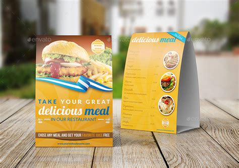 restaurant tent card template table tent printing custom tent print same day xpresscolor