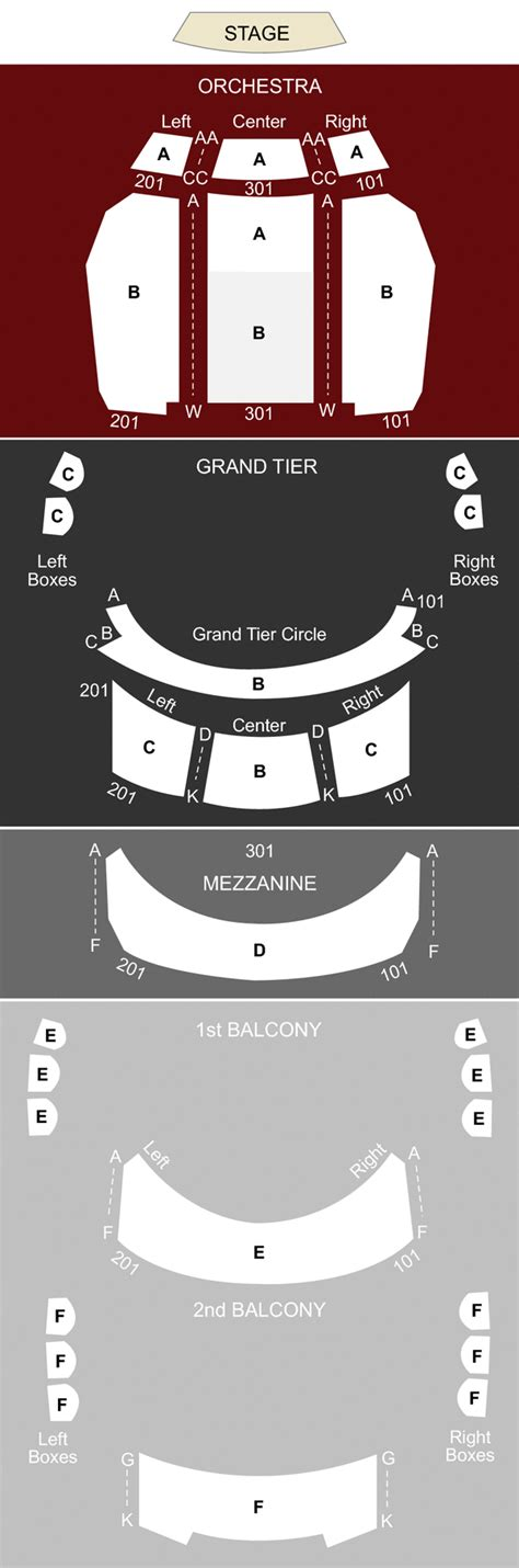 belk theater seating map belk theatre nc seating chart stage