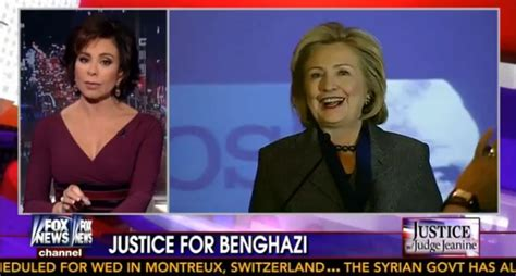 i know it with avery hes guilty jeanine pirro joins benghazi judge jeanine pirro utterly destroys hillary
