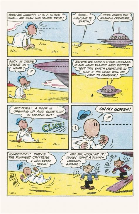 Pop Eye Class by Exclusive Preview Popeye Classic Comics 35 13th