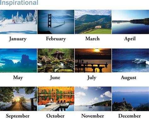 Inexpensive Personalized Calendars Custom Spiral Inspirational Calendars Personalized In Bulk