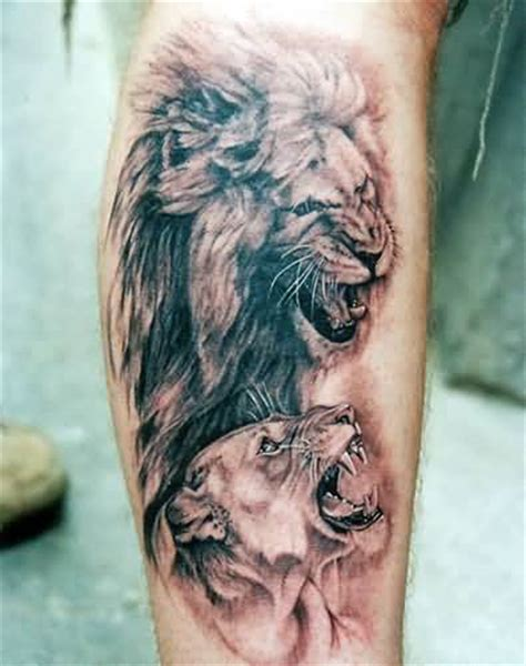 lion and lioness tattoo the world s catalog of ideas