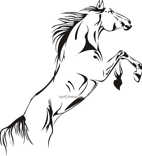 printable horse stickers large horse pvc wall stickers 2929775 2016 6 99