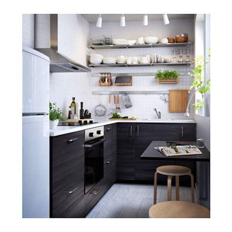 kitchen cabinets reno tingsryd puerta efecto madera negro kitchens kitchen
