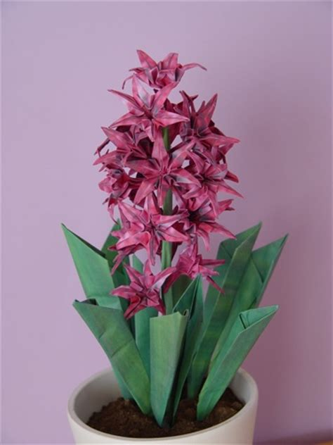 Origami Hyacinth - origami flowers