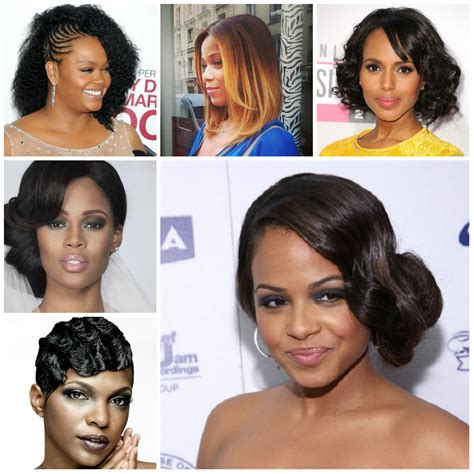 Wedding Hairstyles For Black Hair 2016 by 2016 Festive Hairstyles For Afro American 2017