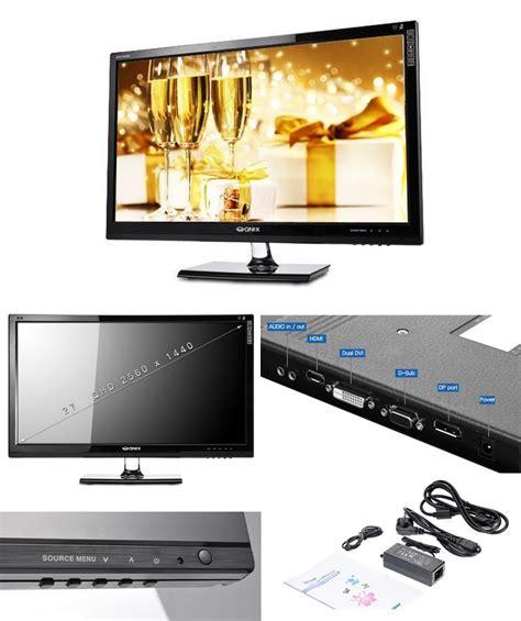 Monitor Led Evio free express new qnix qx2710 led evolution ii dport 27 quot 1440p monitor matte ebay