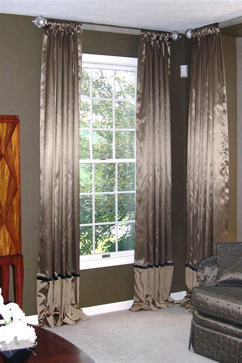 stationary drapery panels fabric window treatments best dressed windows in town