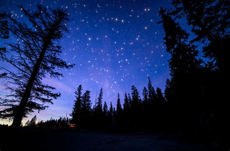 Blue Night Sky Royalty Free Stock Photo