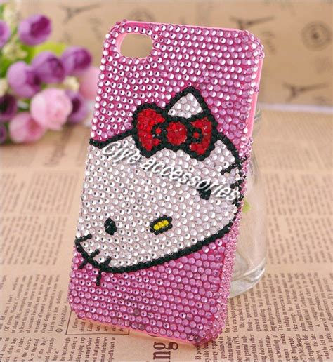 Casing Hello For Iphone 4 4s pink hello for phone accessories
