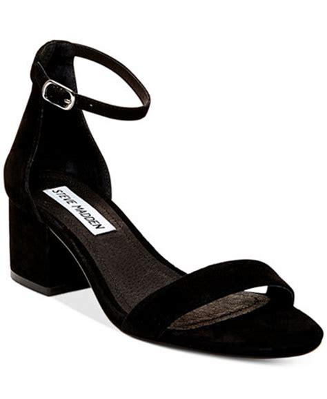 steve madden s irenee two block heel sandals sandals shoes macy s