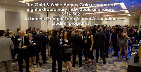 georgia tech alumni association gold white honors gala