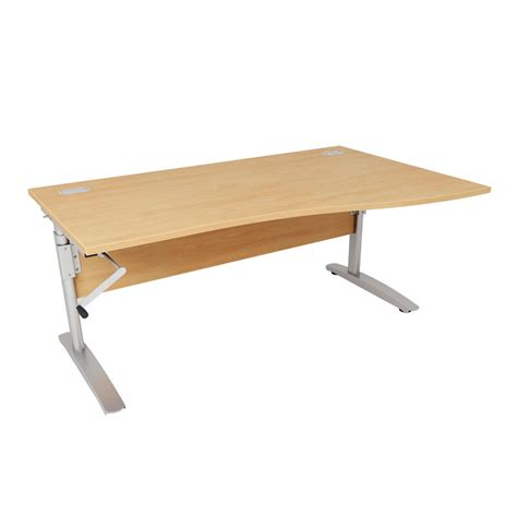office furniture adjustable height desk dorset office furniture seating desks reception furniture height adjustable wave desk