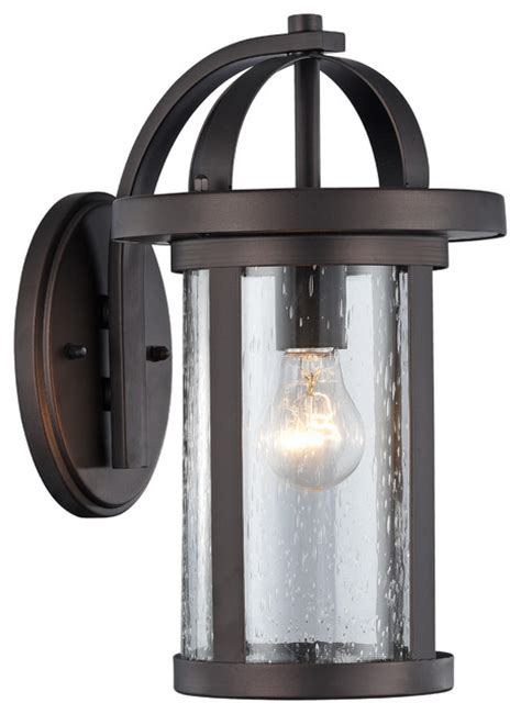 Transitional Outdoor Lighting Lighting Angelo Transitional 1 Light Black Outdoor Wall Sconce 14 Quot Height View In