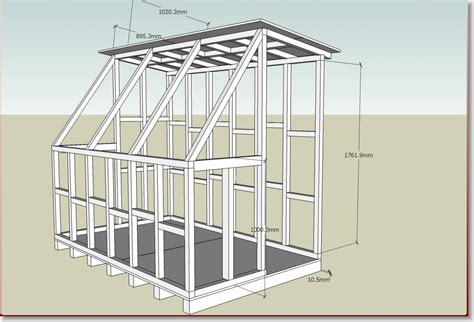 shed plans storage building how to build a 8x10 wood shed