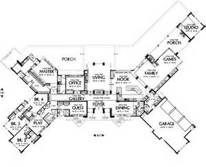 large one story house plans beautiful home love 5brs 5 5 baths almost 6000 sqft all on one floor garage stalls 3 baths