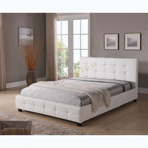 upholstered beds king size bed and mattress package king size upholstered white pu