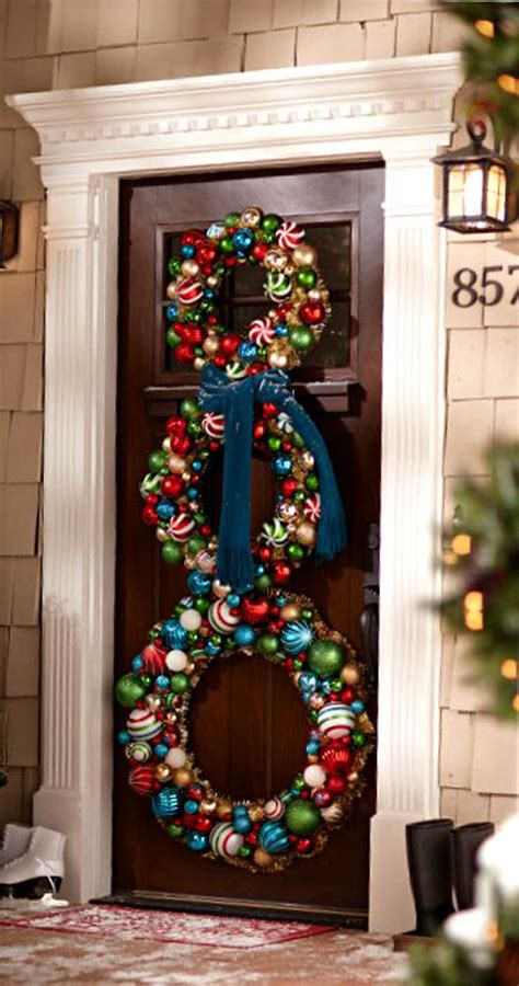 decorazione porta natale idee natale 2014 come decorare la porta designbuzz it