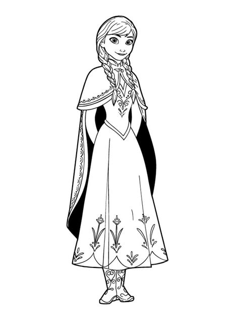 frozen coloring pages a4 printable disney frozen coloring pages letscoloring