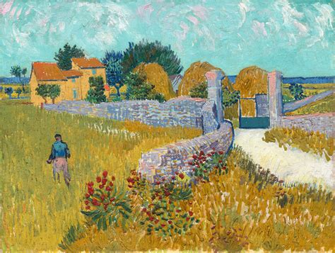 Letter Of Intent Oise vincent gogh farmhouse in provence 1888 with