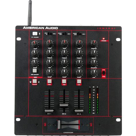 Audio Mixer American Standard american audio 10 quot bluetooth mixer 10 mxr bt b h photo
