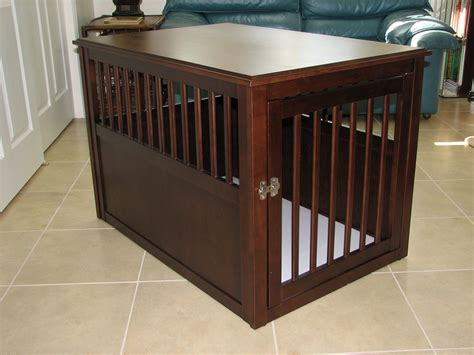 dog crate end table diy dog crate furniture diy double dog coffee table crate