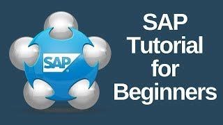 sap tutorial for beginners sap beginners make money from home speed wealthy