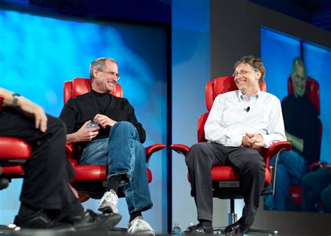 biography of bill gates and steve jobs gates and jobs leadership styles in their own words with