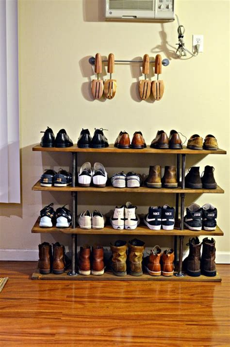 Shoes Rack Ideas by Shoe Rack Plans Desk Woodoperating Plans Building A Laptop