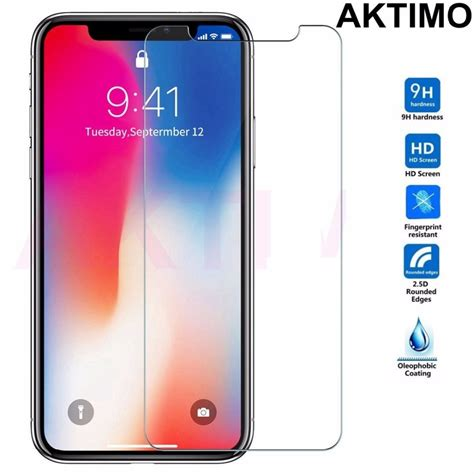 9h 0 26mm explosion proof tempered glass for iphone x ten 10 8 plus 7 6 6s plus 5 5s se 5c 4 4s